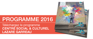 Centre Social Lille Sud Programme 2016