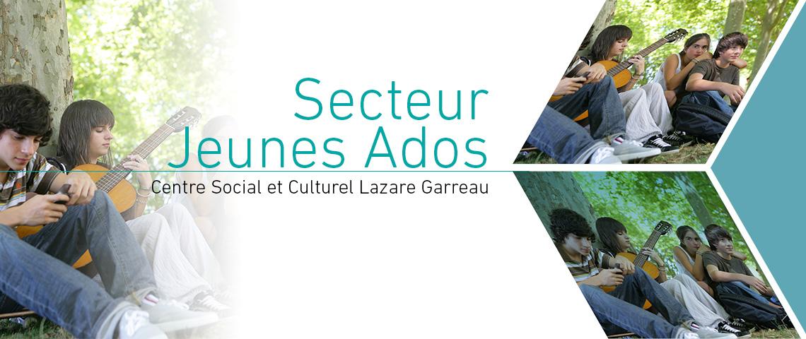 Programme 2018, Secteur Jeunes Ados, Centre Social et Culturel Lazare Garreau, Lille Sud