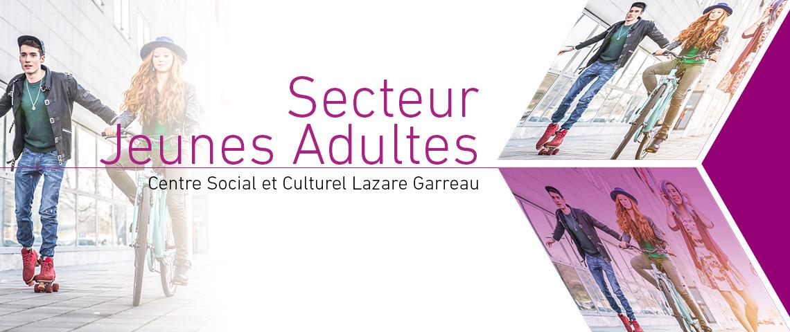 Programme 2018, Secteur Jeunes Adultes, Centre Social et Culturel Lazare Garreau, Lille Sud