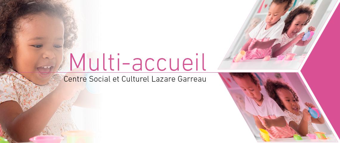 Programme 2018, 0/3 ans, Multi-accueil, Centre Social et Culturel Lazare Garreau, Lille Sud