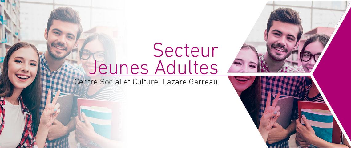 Programme 2019 du secteur jeunes adultes