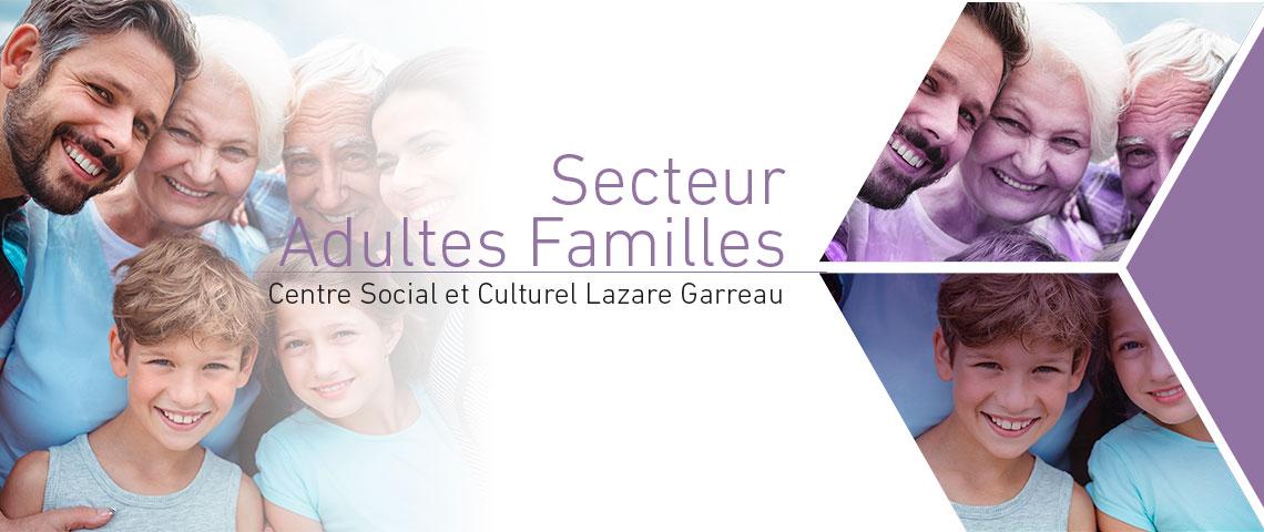 Programme 2019 du secteur adultes familles